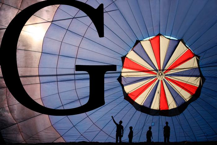google воздушный шар