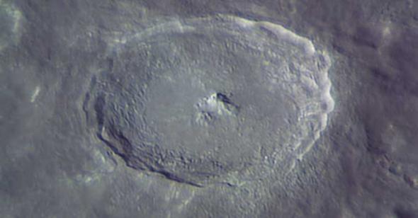 кратер луны