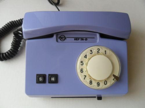 старый телефон с диском
